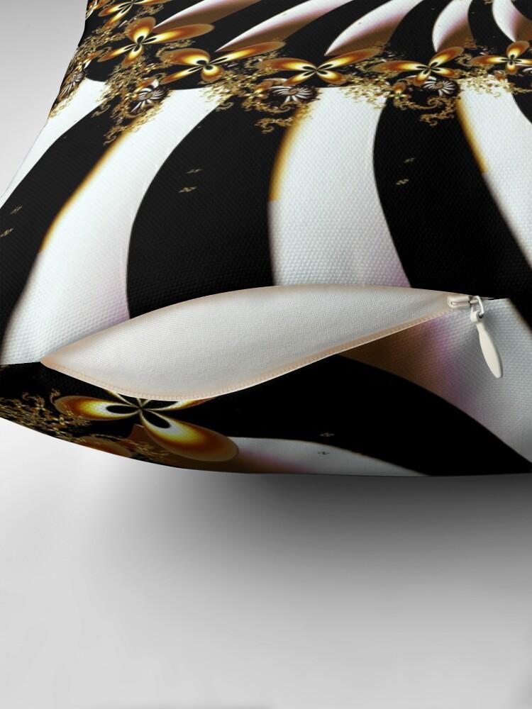Alternate view of Butterfly Vortex Throw Pillow