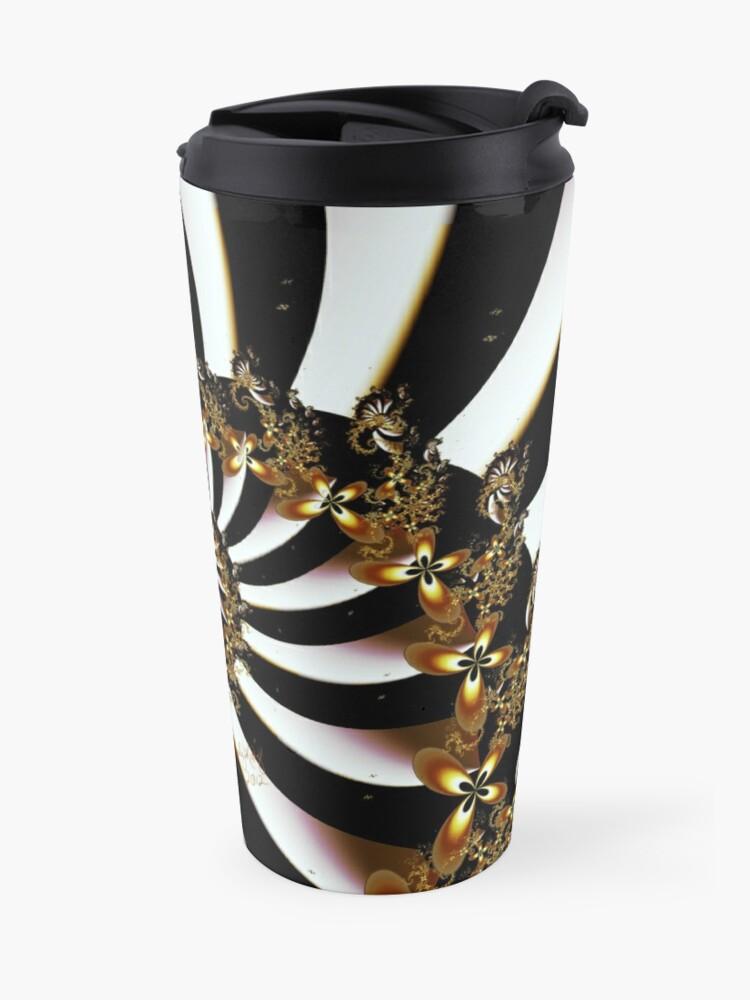 Alternate view of Butterfly Vortex Travel Mug