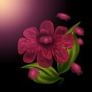 Luxurious Petals in Wine by karlajkitty