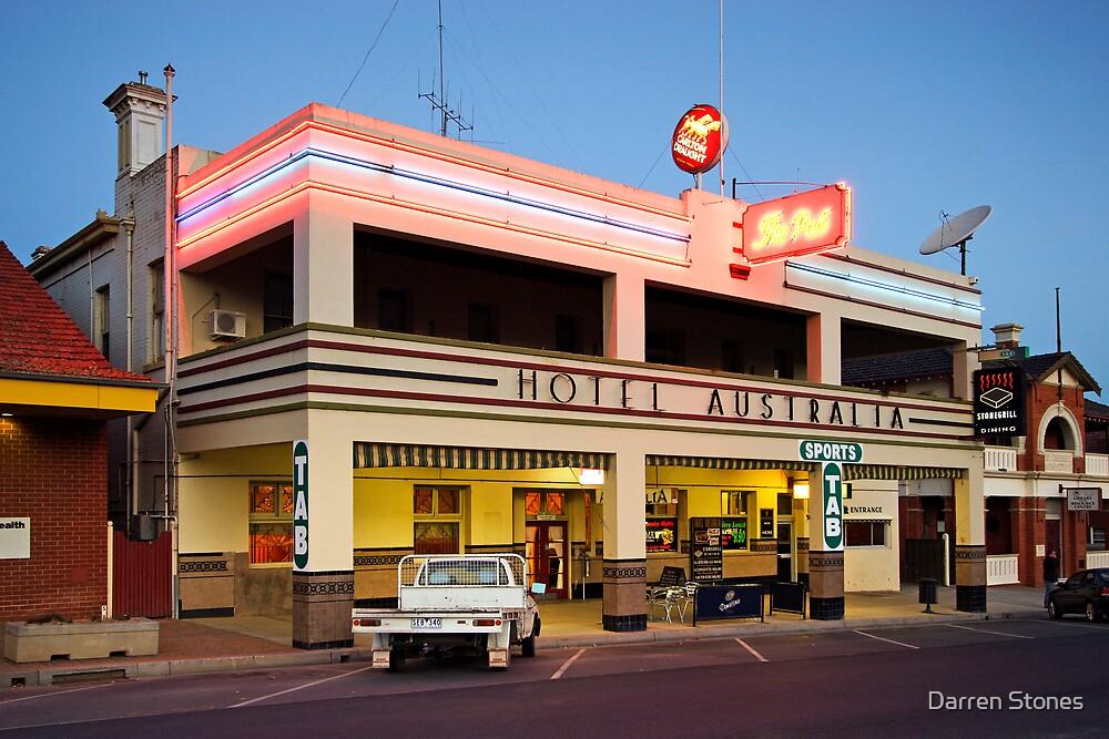 Hotel Australia - Corowa by Darren Stones