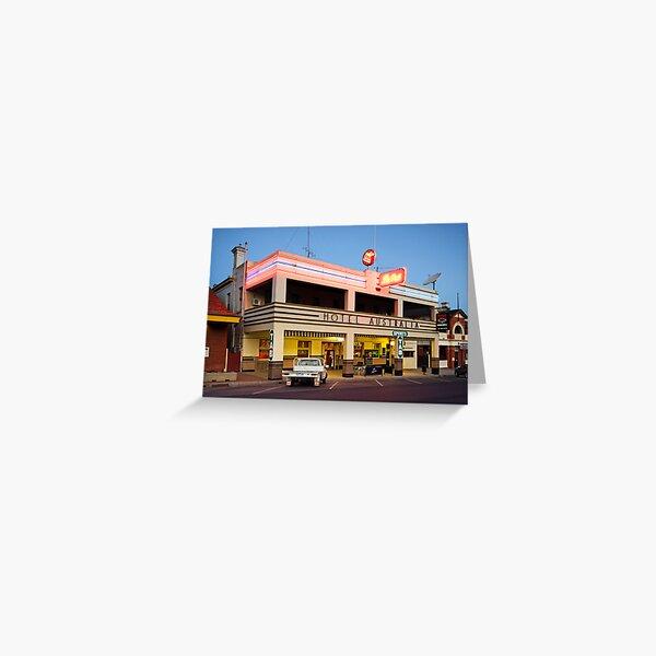 Hotel Australia - Corowa Greeting Card