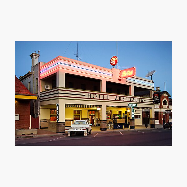 Hotel Australia - Corowa Photographic Print