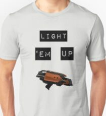 Heatwave. Light 'em up Unisex T-Shirt