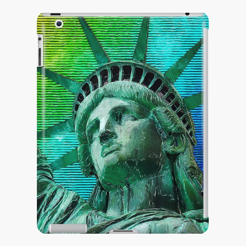 Pop Art Statue of Liberty iPad Case & Skin