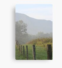Fence Row Canvas Print