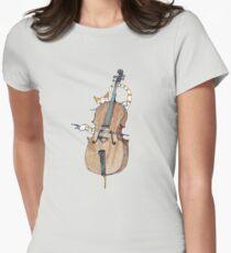 Camiseta entallada para mujer Cello Cat