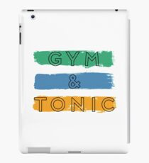 Gym & Tonic iPad Case/Skin