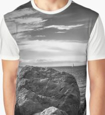 Sailing | Orient Point, New York Graphic T-Shirt