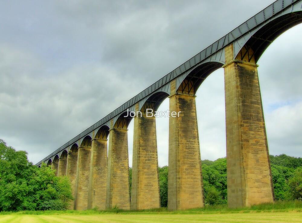 Pontcysyllte Aqueduct   , wales . by Jon Baxter
