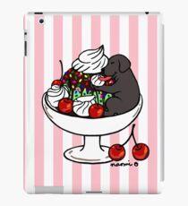 Black Labrador Ice Cream Sundae iPad Case/Skin