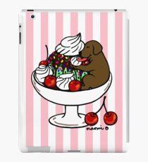Chocolate Labrador Ice Cream Sundae iPad Case/Skin