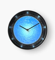 Stargate Atlantis Wormhole Portal Clock