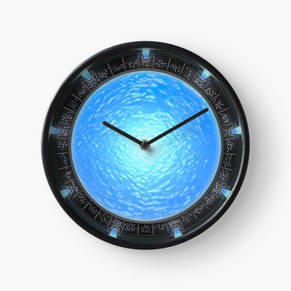 Stargate Atlantis Wormhole Portal Clock