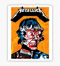 Metallica Rock'n Roll Band Sticker