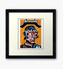 Metallica Rock'n Roll Band Framed Print