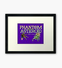 Gaming [C64] - Phantom of the Asteroid Framed Print