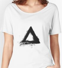 Triangle Mountain Women's Relaxed Fit T-Shirt