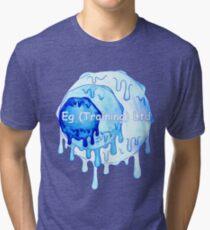 dripping egt logo Tri-blend T-Shirt