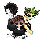 Dark Trio - Nothing's okay by kiyoshilia