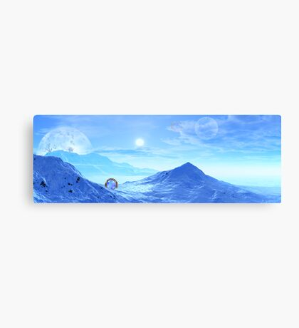 Portal at Worlds End Canvas Print