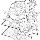 Roses flowers life by Paula Stirland
