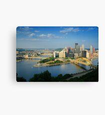 Pittsburgh Pennsylvania (Alan Copson © 2007) Canvas Print