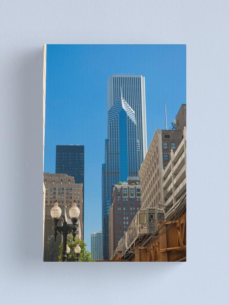 Alternate view of USA Illinois Chicago El train (Alan Copson © 2007) Canvas Print