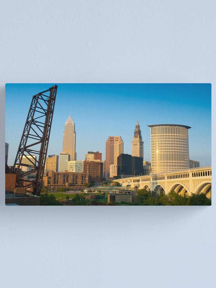 Alternate view of Cleveland Ohio (Alan Copson © 2007) Canvas Print