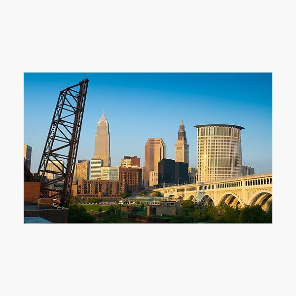 Cleveland Ohio (Alan Copson ©) Photographic Print
