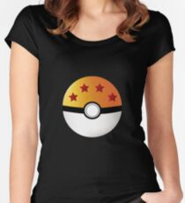 PokeDragon Ball Women's Fitted Scoop T-Shirt