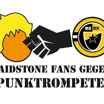 Maidstone Fans Gegen Spunktrompten by PPMaidstone