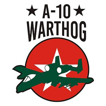 A-10 WARTHOG TSHIRT by calvindaws
