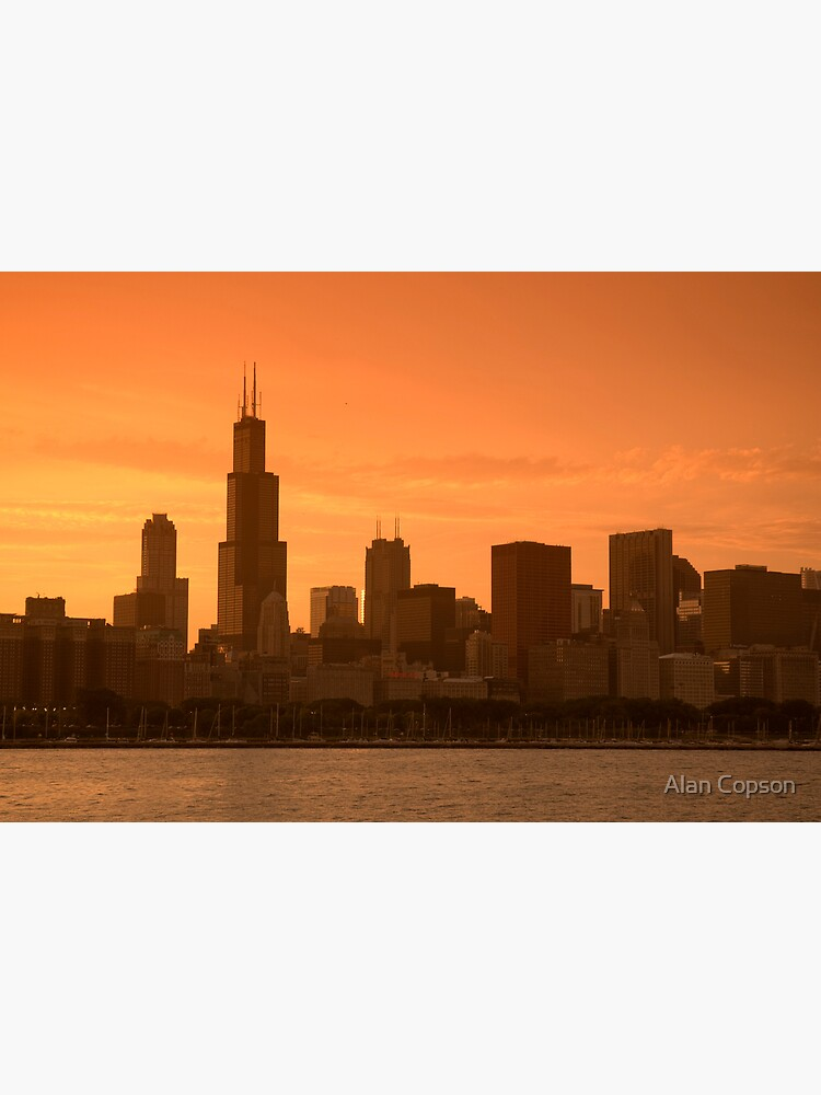 Chicago Skyline including Sears Tower (Alan Copson © 2007) by AlanCopson