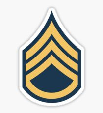 US Army Staff Sergeant Sticker