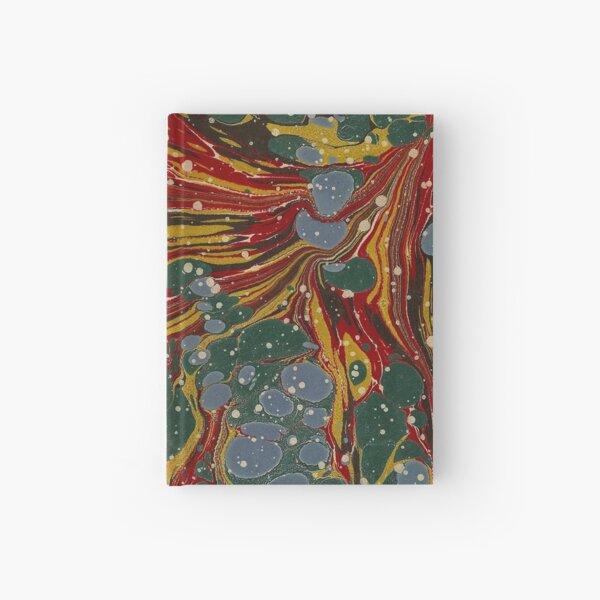 Melting Marbled Paper Hardcover Journal