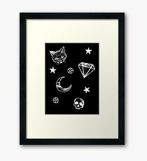 Witchcraft pattern Framed Print