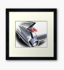 The Caddy Claw - Lobster Claw Cadillac Framed Print