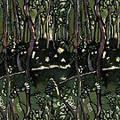 Australian bush pattern by Michele Meister