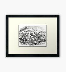 The Battle of Bannockburn, 24 June 1413 Framed Print