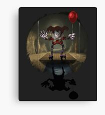 Mr. Pennywise Canvas Print