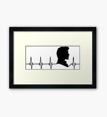 My Heart Beats for 11 Framed Print
