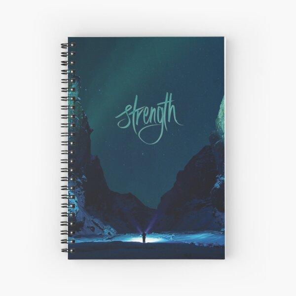Strength - X723 Spiral Notebook