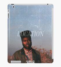 Khalid Merchandise iPad Case/Skin