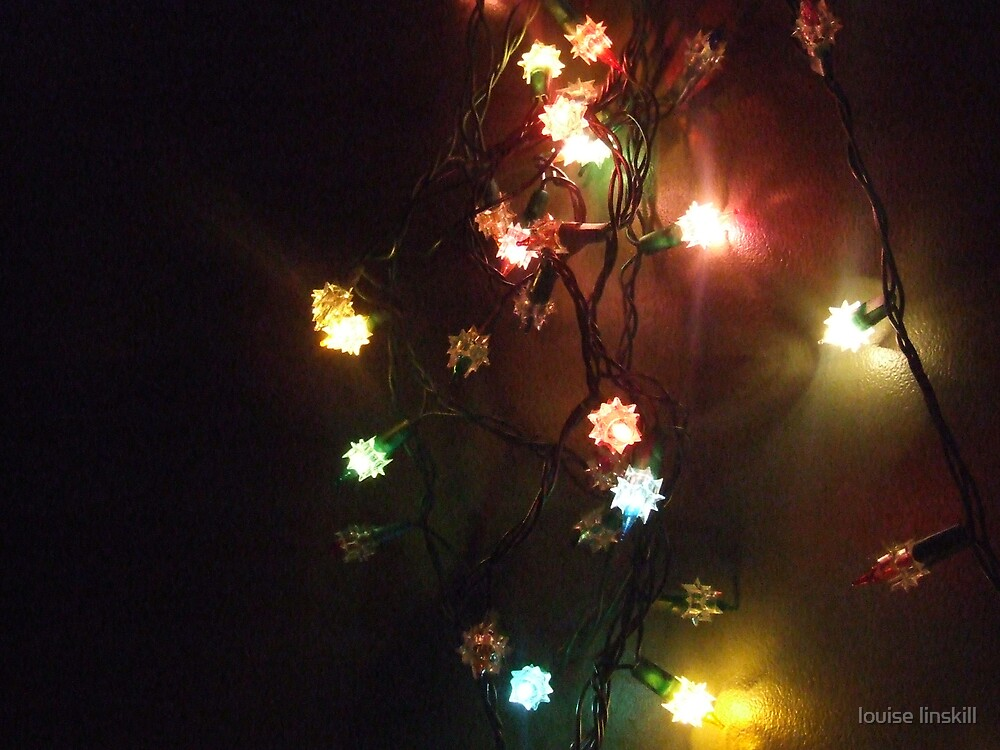 party lights by louise linskill
