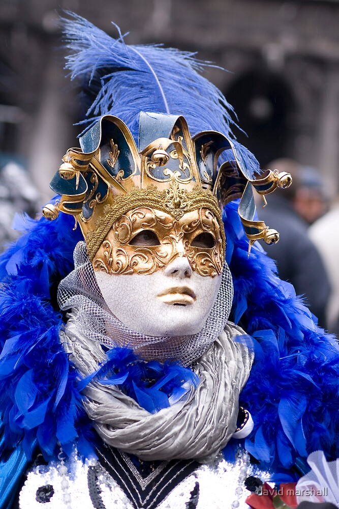 Masked female 2 by david marshall