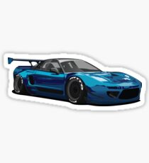 NSX Rocket Bunny Render Sticker
