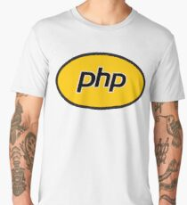 PHP developer - Superhero coder Men's Premium T-Shirt