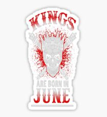 June - Birthday - Kings - EN Sticker
