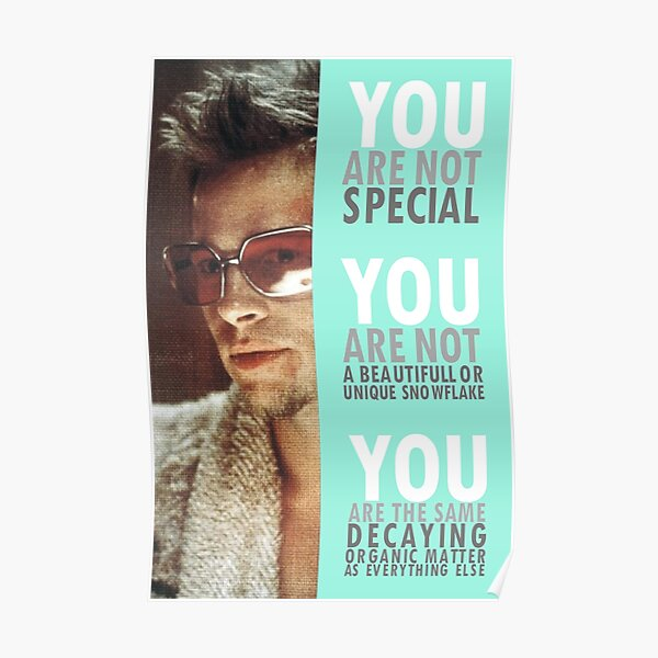 You Are Not Special Poster
