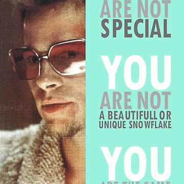 You Are Not Special by Ajanovich